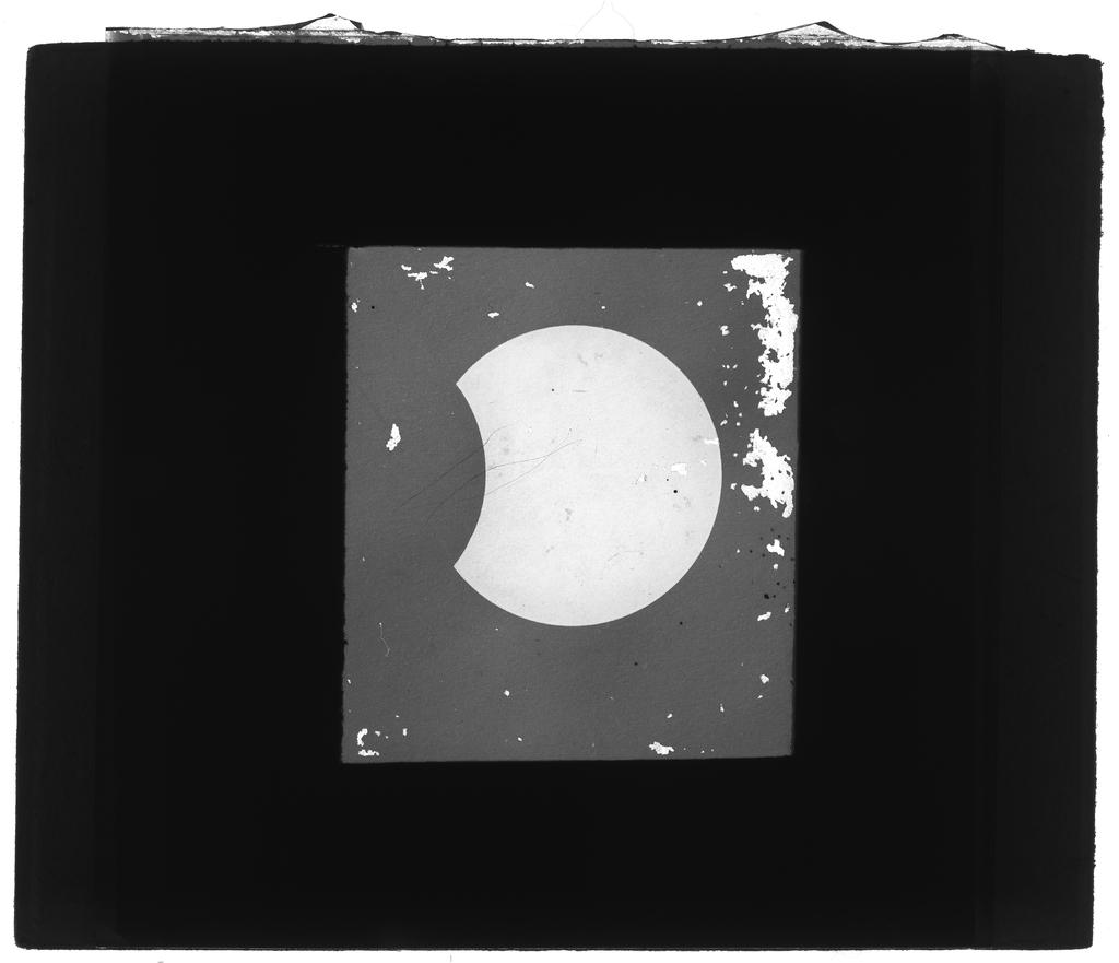 Fase iniziale dell'eclisse