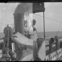 A bordo della nave Euridice
