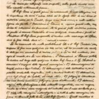 Lettera di Angelitti a Riccò