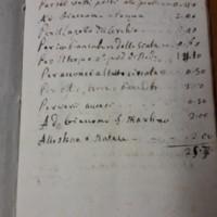 Quaderni di conti e spese personali di Padre Piazzi<br /><br />