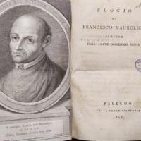 Elogio di Francesco Maurolico scritto dall'abate Domenico Scinà
