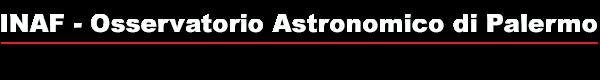 INAF- Osservatorio Astronomico di Palermo